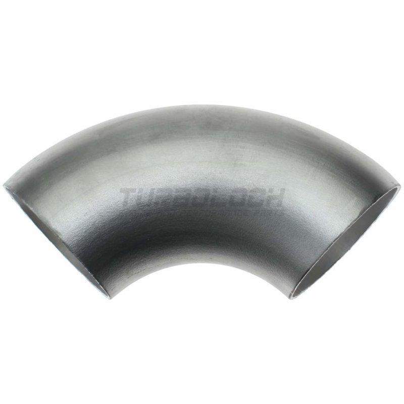 42mm x 2mm 90 ° Alubogen Aluminium einschweissbogen